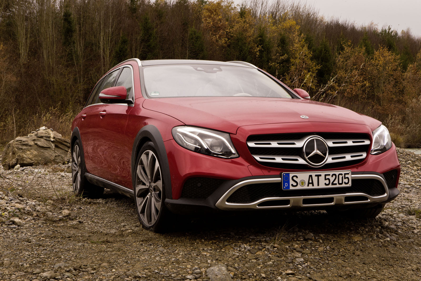 Ausfahrt Mit Der Neuen Mercedes E Klasse All Terrain Auto