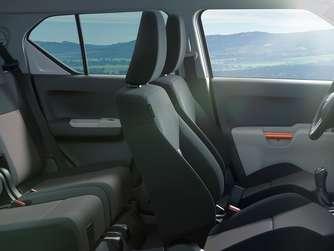 Im Suzuki Ignis Retro Innenraum Haben Bis Zu Vier Erwachsene Platz