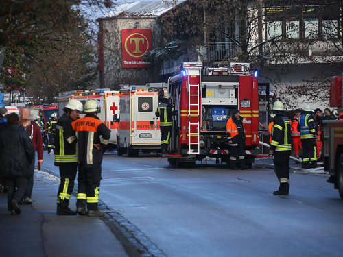 Balkon-Brand in Bad Reichenhall