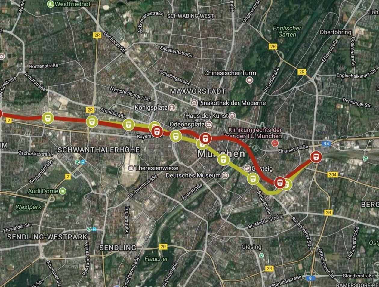 In 3500 Tagen Soll In München Die Zweite Stammstrecke
