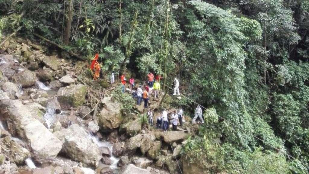 Brückeneinsturz Kolumbien