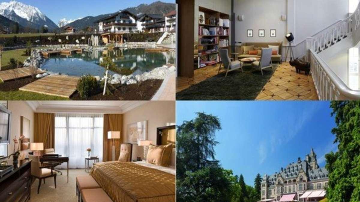 in diesen zehn deutschen hotels wellnessen sie am sch nsten reise. Black Bedroom Furniture Sets. Home Design Ideas