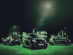smart electric drive: Alle smart Modelle werden elektrisch