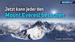 Mount Everest für alle: Bergsteigen mit Virtual Reality