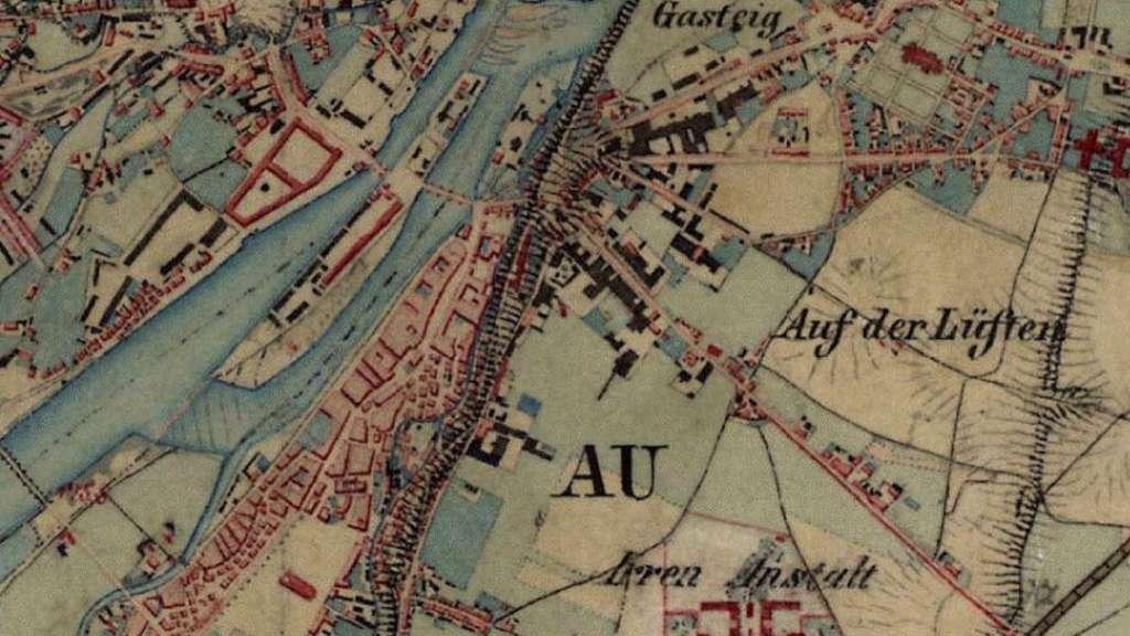 Alte Karte Deutschland 1940.München 1856 Vier Karten Die Ihren Blick Auf Die Stadt Verändern