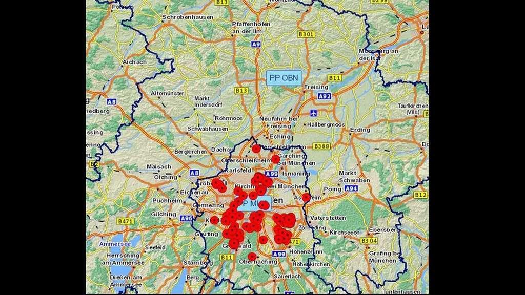 Raum München 199 einbrüche an diesen orten schlug eine osteuropäer bande im raum