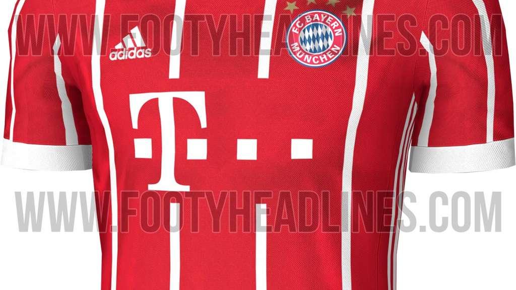 Fc Bayern Trikot 20172018 Erstes Foto Veröffentlicht Fc Bayern