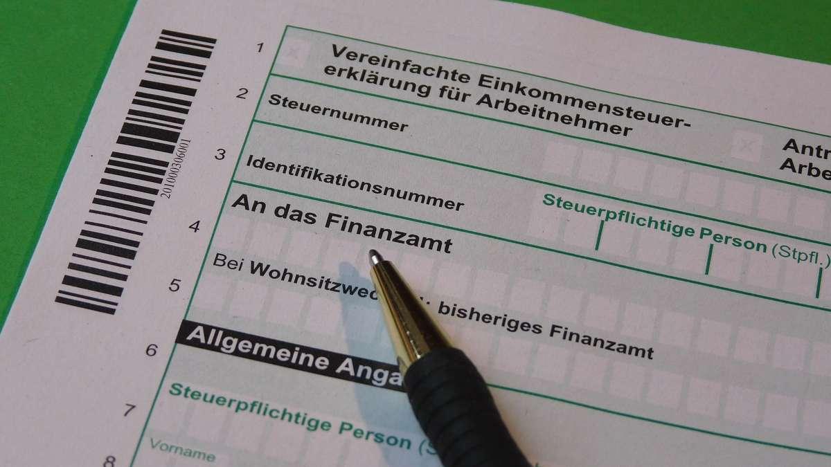 Kosten Steuererklärung