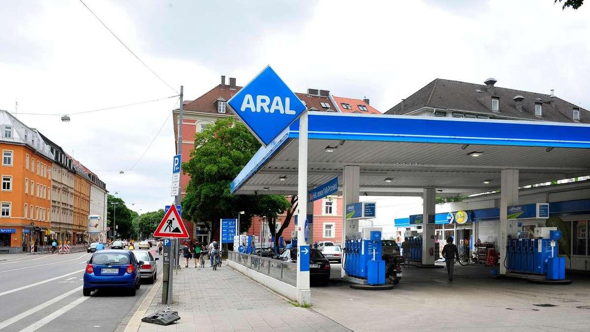 Tankstelle Bad Reichenhall
