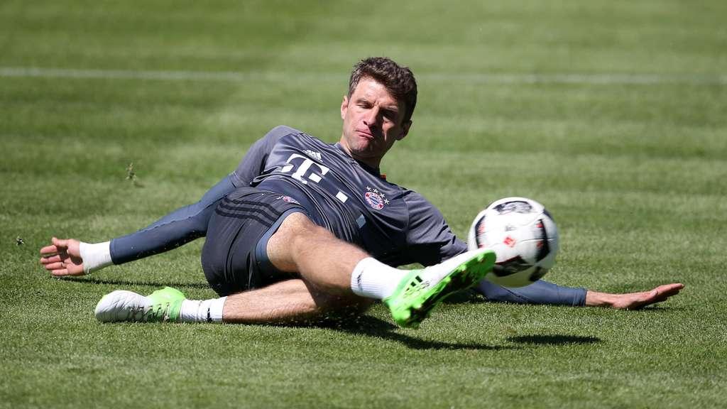 Thomas Müller vom FC Bayern München will Rekordmeister als ...