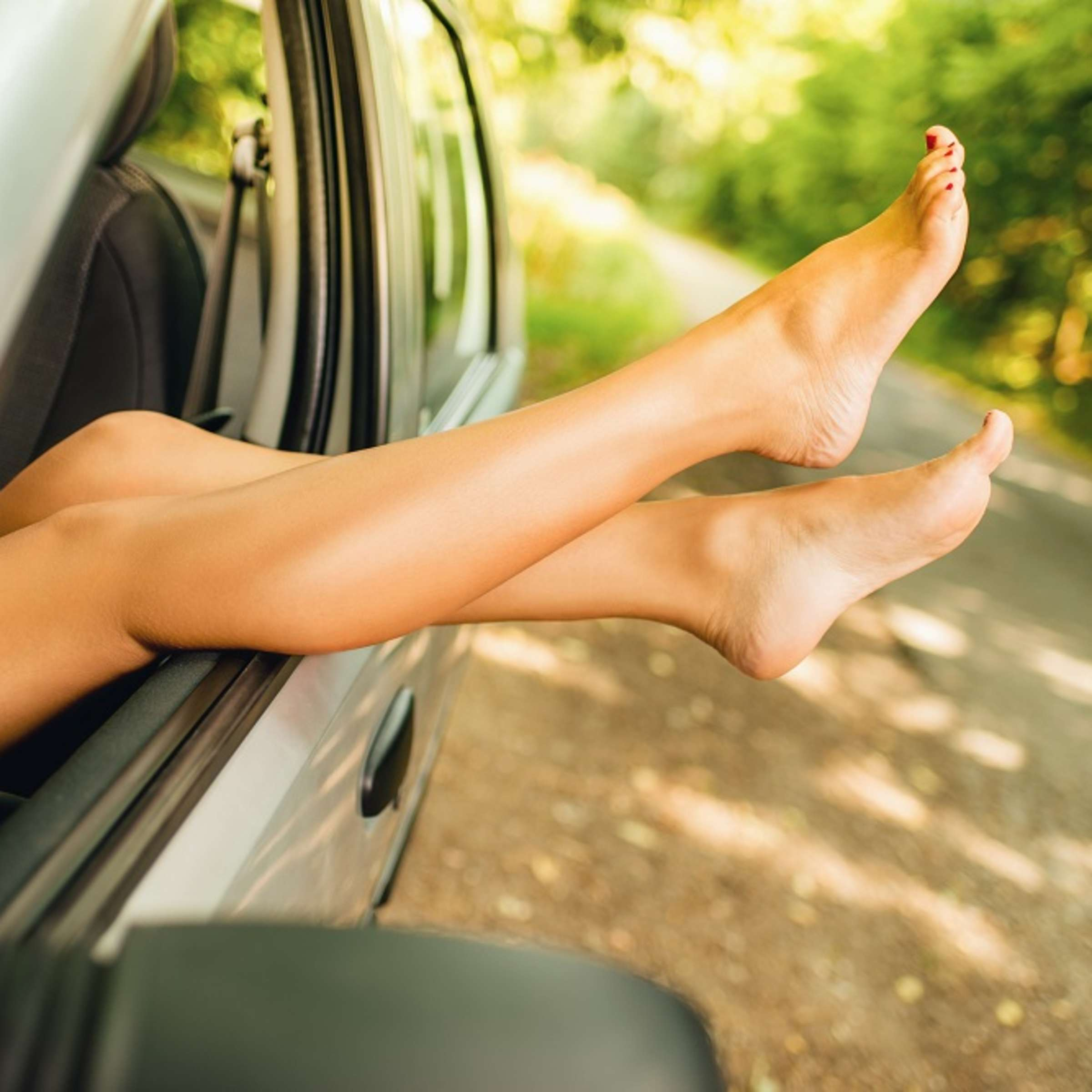 In auto nackt German car,