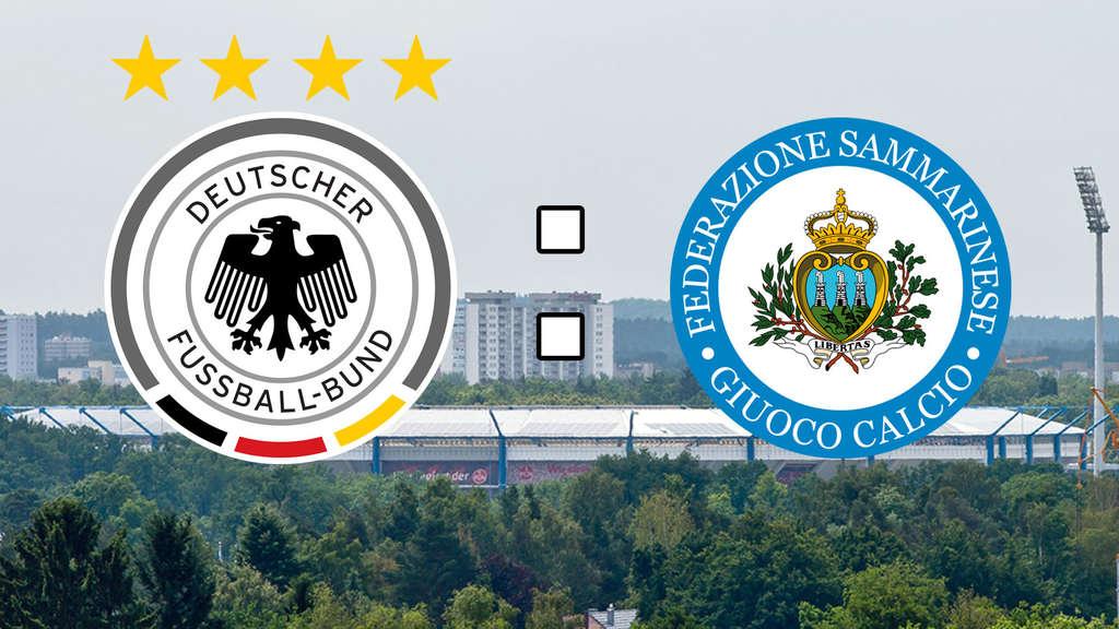 Deutschland San Marino Live Ticker