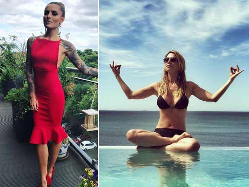 """Big Wedding"": Sophia Thomalla feiert ganz in rot"