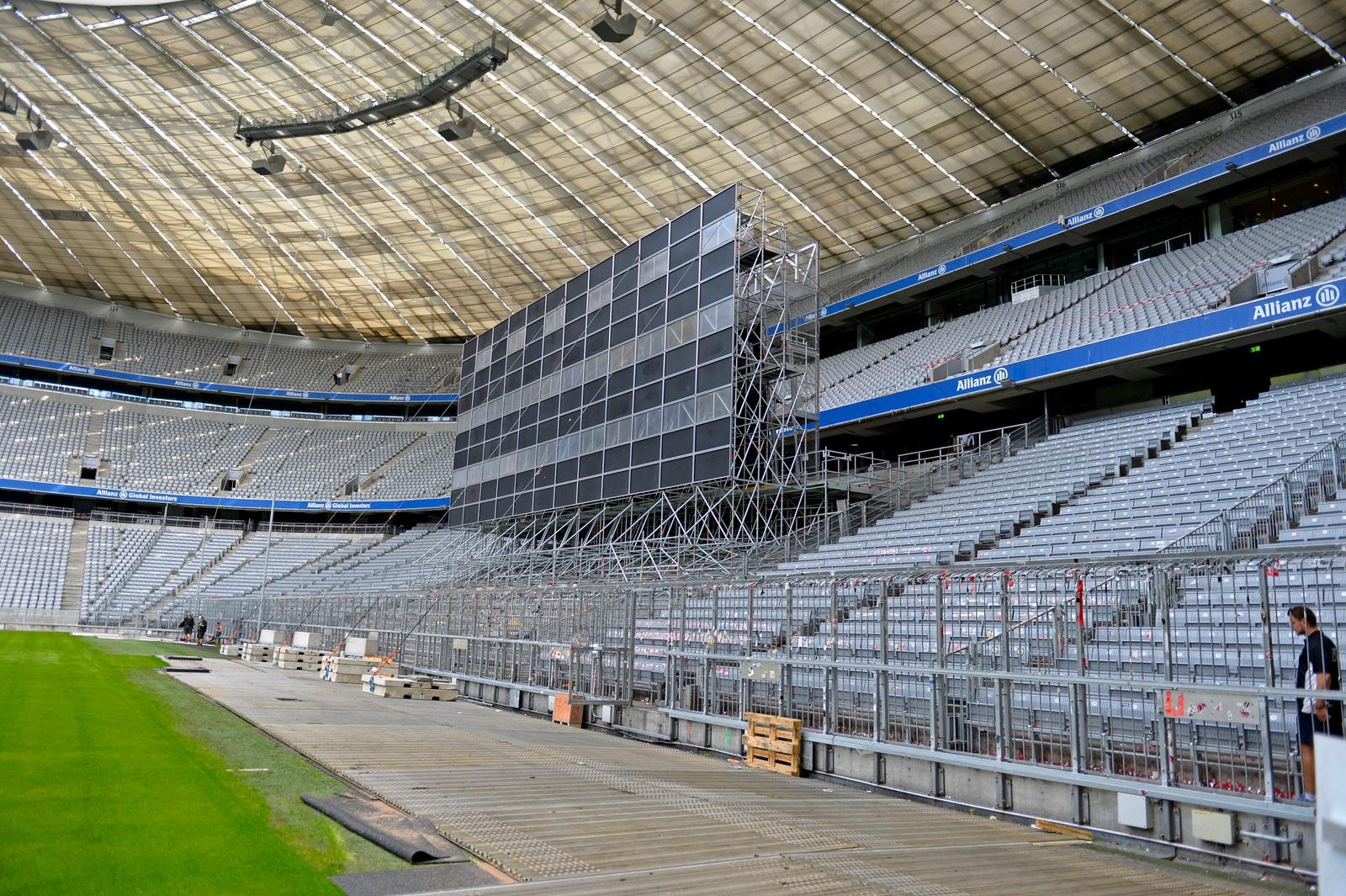 Allianz Arena Rote Sitze