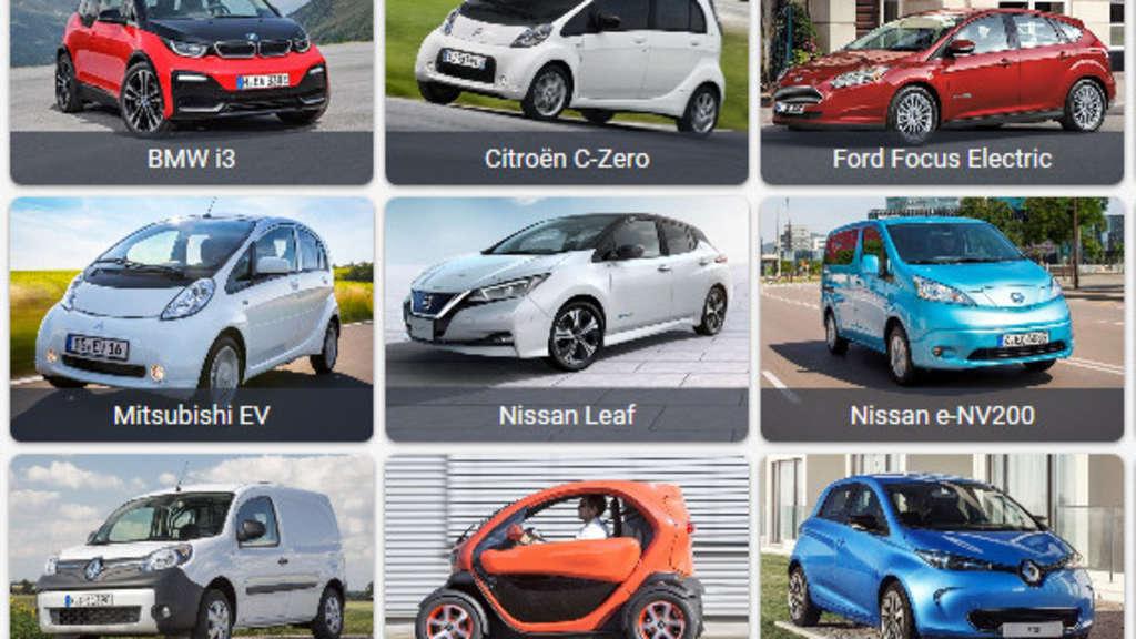 Marken, Preise, Umwelt, Reichweite: Große Übersicht aller E-Autos | Auto