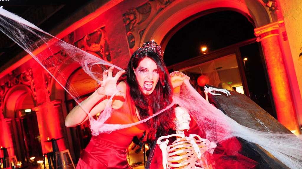Eine Halloween Hure