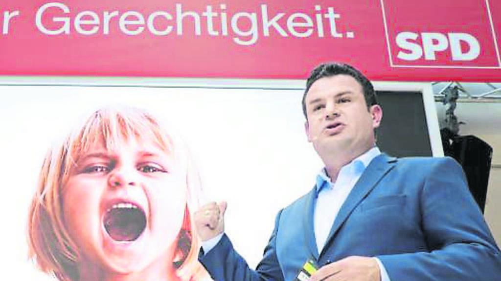 Heil Schulz Spd Plakat