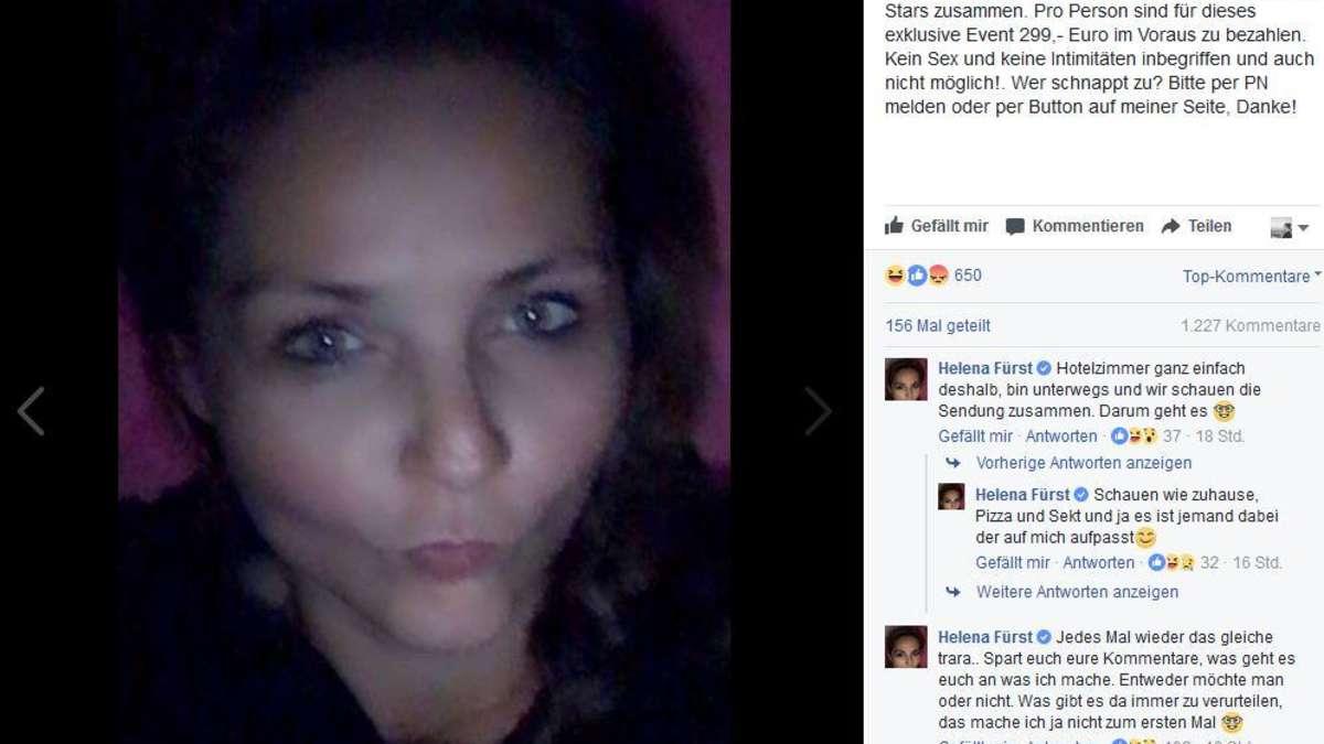 Eine Nacht mit Helena Fürst - für 299 Euro! | Stars