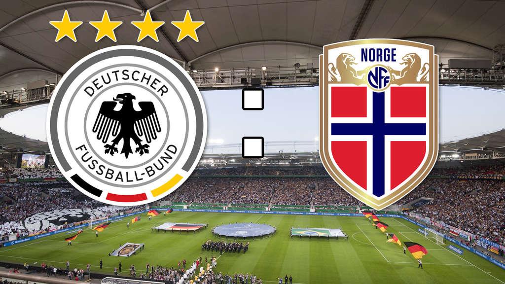 norwegen deutschland live