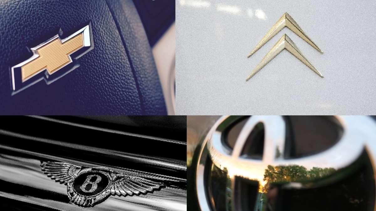 Quiz Welches Logo Gehort Zu Welcher Automarke