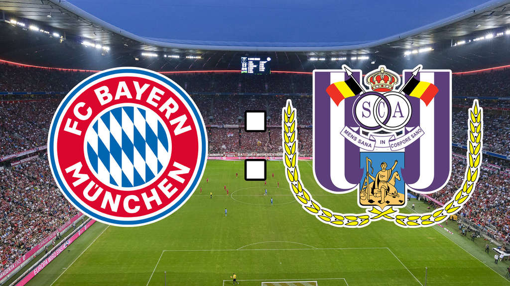 fc bayern m nchen gegen rsc anderlecht champions league im live ticker fc bayern. Black Bedroom Furniture Sets. Home Design Ideas