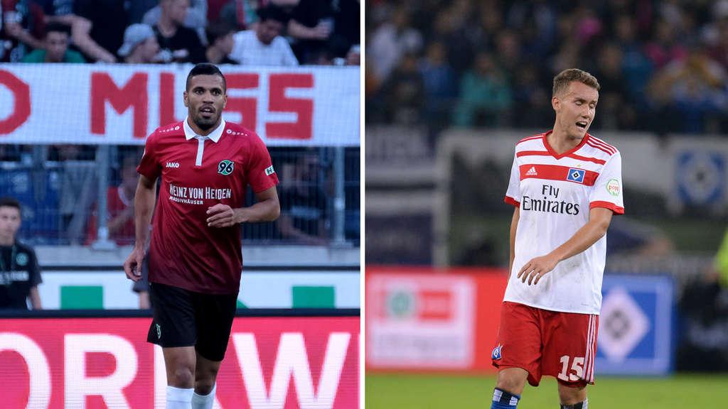 Hannover 96 Hamburger Sv So Endete Das Spel Fußball
