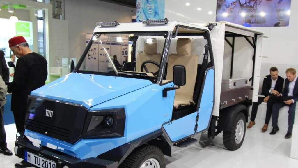 IAA: Doktoranden bauen Billig-E-Auto aCar für Afrika | Auto