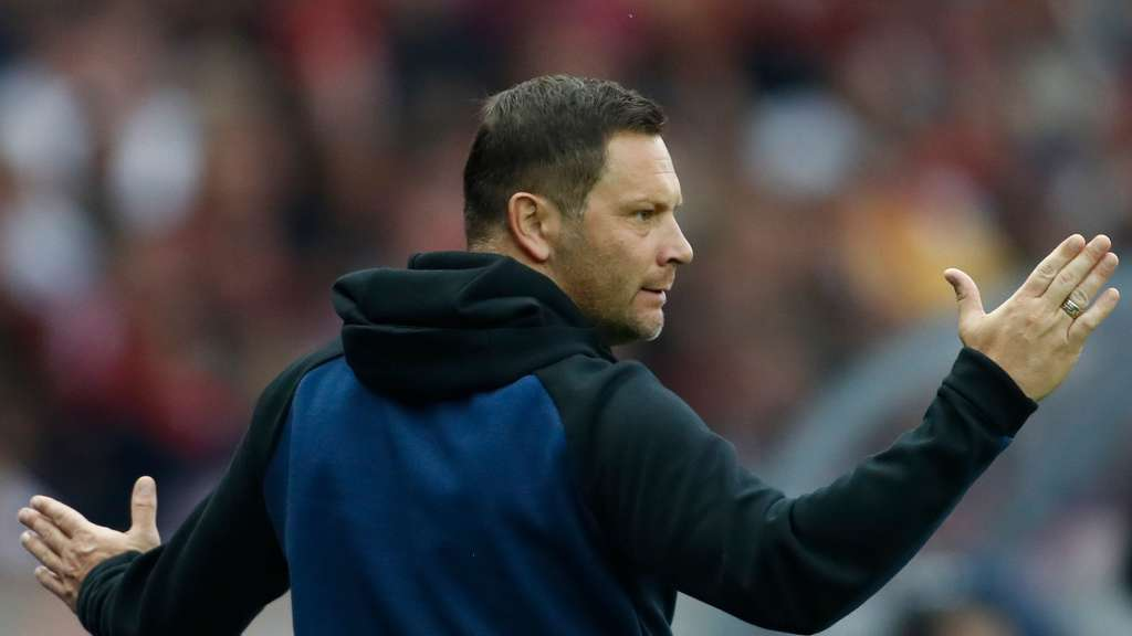 Hertha-Trainer Pal Dardai.