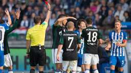 Hertha bringt US-Protest in Bundesliga