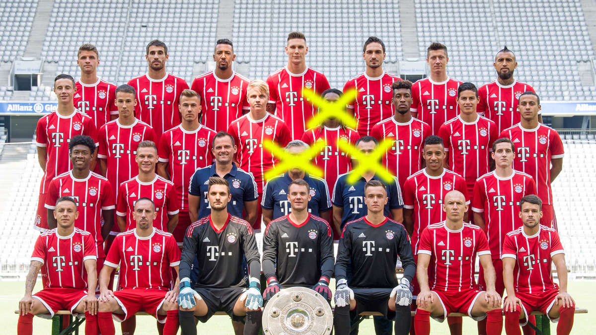 fc bayern m nchen neues teamfoto carlo weg jupp her. Black Bedroom Furniture Sets. Home Design Ideas