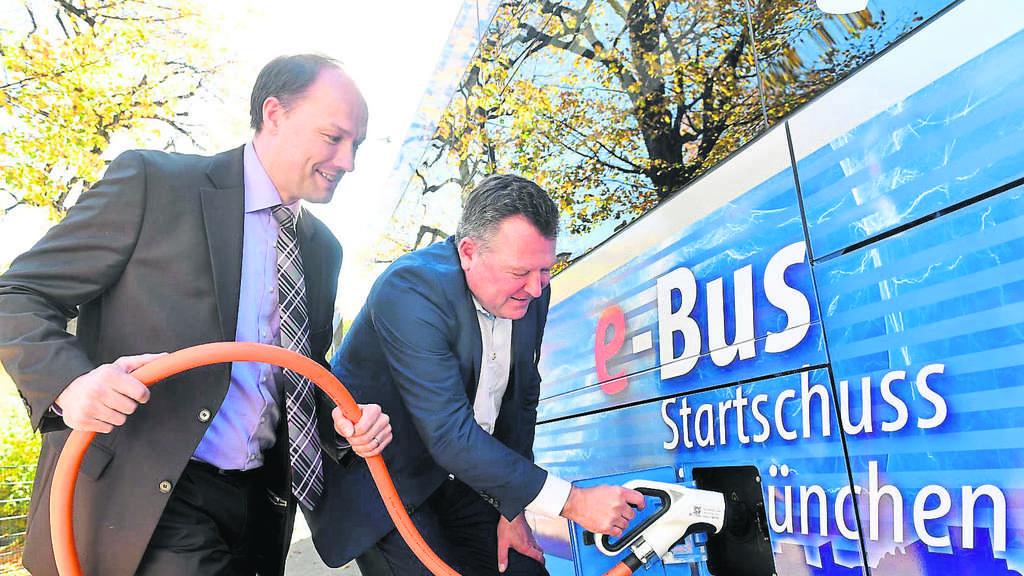 """Münchens erster E-Bus: Das ist der neue """"Flüster-Bus"""" der"""