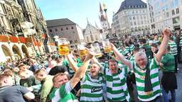 Celtic-Fans sind in Party-Stimmung