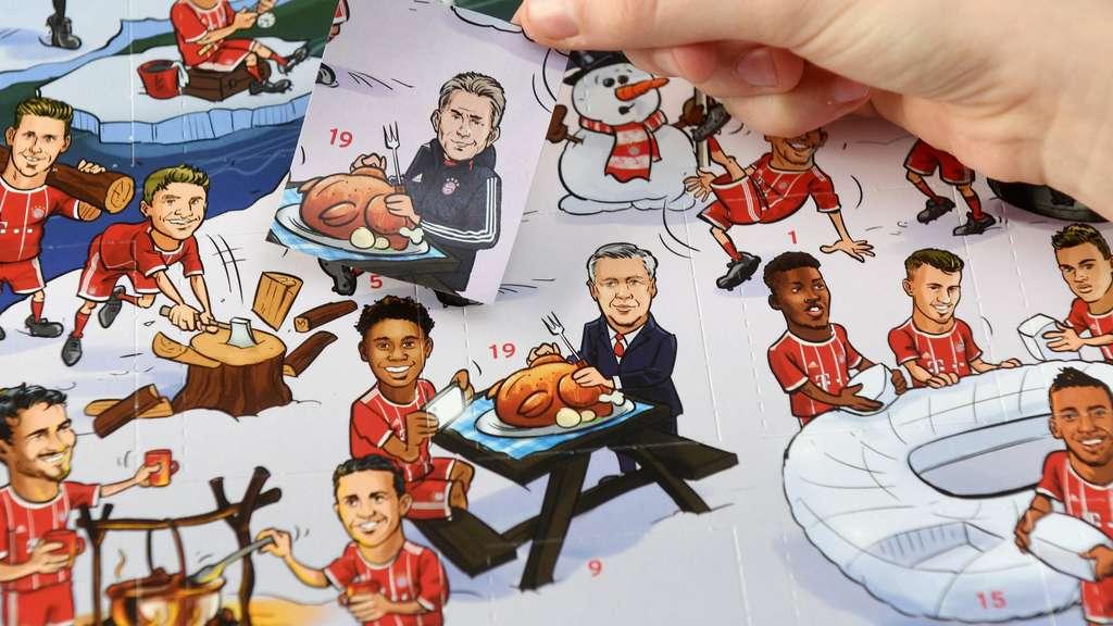 FC Bayern Adventskalender Mit Carlo Ancelotti