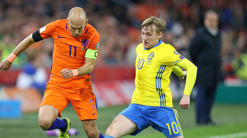 Wm Playoffs So Endete Das Hinspiel Zwischen Schweden Und Italien