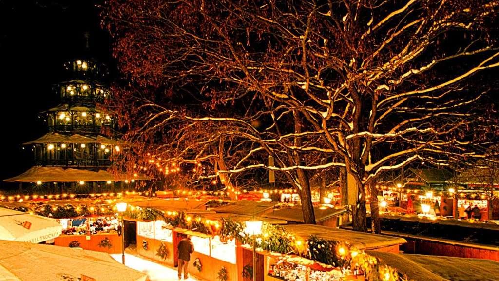 Weihnachtsmarkt Am Chinesischen Turm.Große übersicht Hier Sind Die Schönsten Weihnachtsmärkte In München