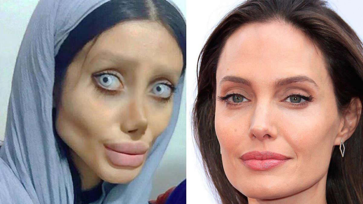 Sahar Tabar Images >> 19-Jährige hat ihren Angelina-Jolie-Look nur vorgetäuscht | Stars