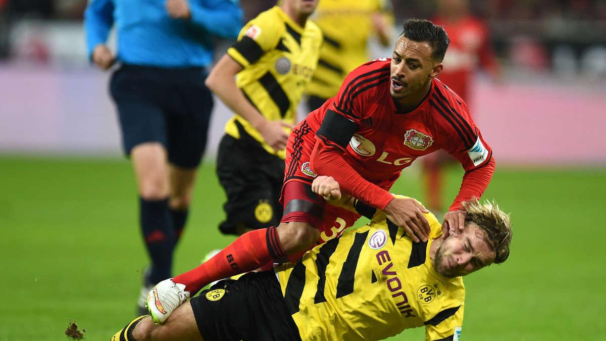 So endete bayer leverkusen gegen borussia dortmund fu ball for Bundesliga live stream