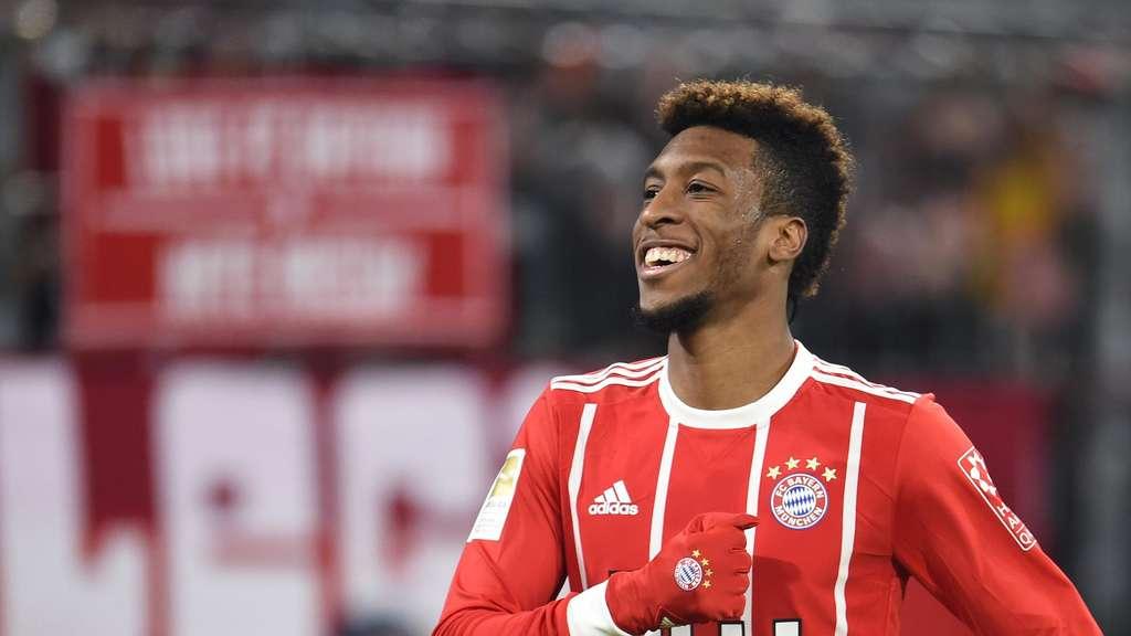 Bayern Profis Loben Uberragenden Kingsley Coman Nach Starker