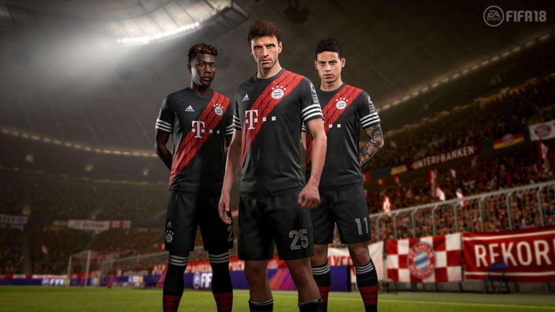 FC Bayern FIFA 18 Trikot