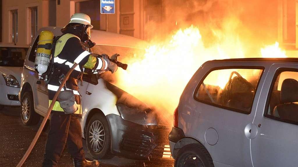 Baufirmen München wieder auto in der au abgefackelt brand anschlag auf baufirma au