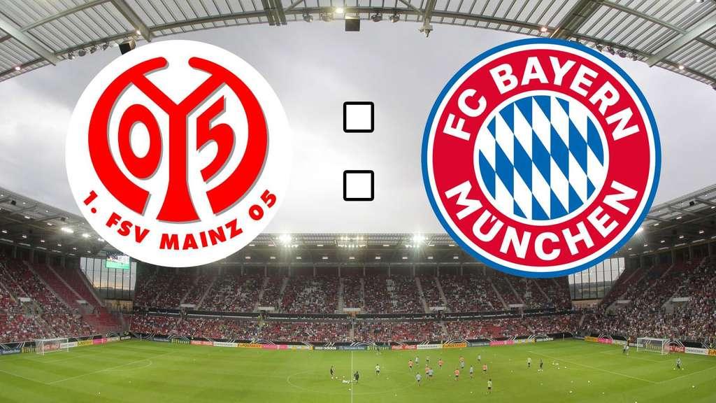Live Ticker Der Fc Bayern München Zu Gast Beim 1 Fsv Mainz 05 Fc