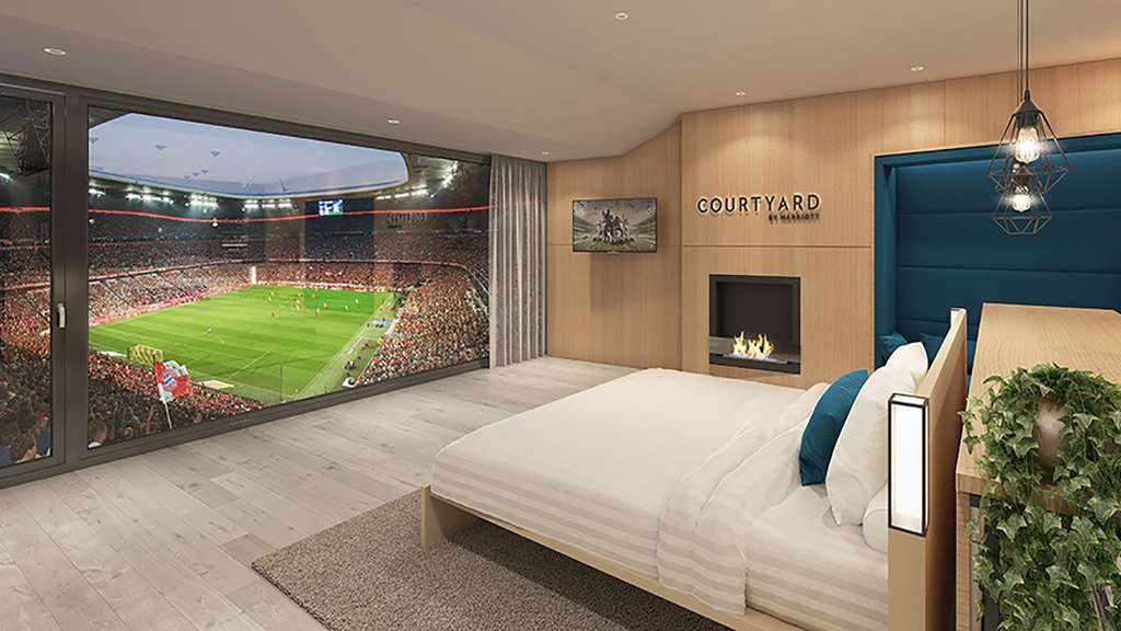 Partnerschaft des fc bayern mit courtyard by marriott for Bayern design hotel
