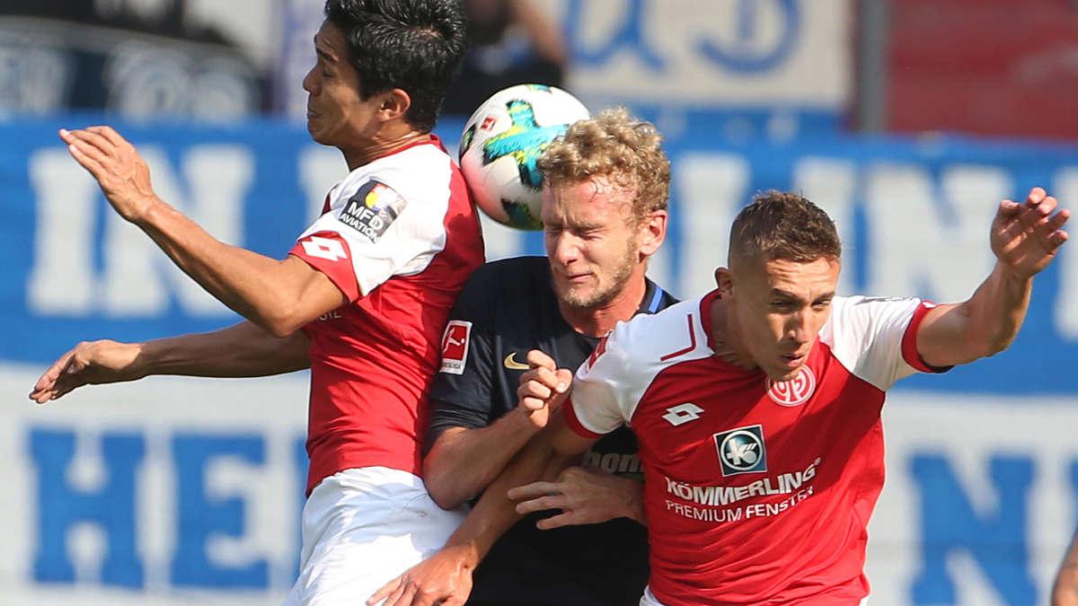 Hertha Bsc Mainz 05 Im Liveticker