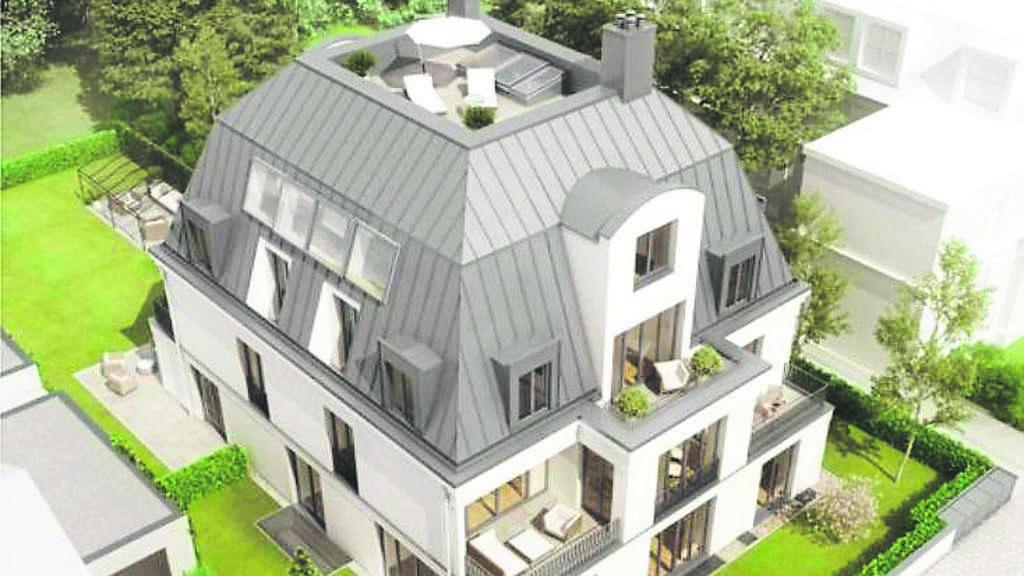 Klassische Villa Neubau hilfe, wir werden zugebaut! luxusbunker im nachbarsgarten geplant