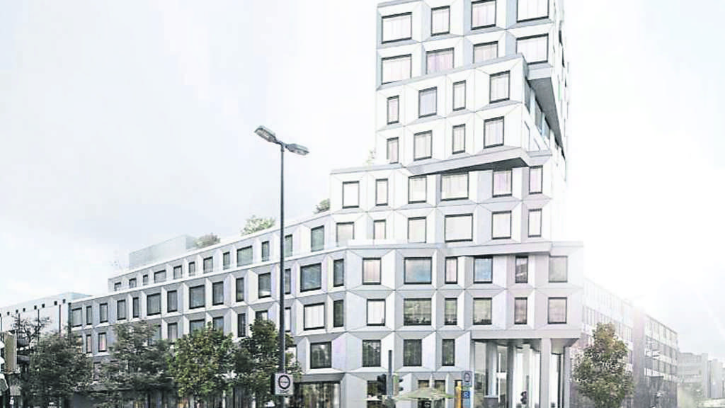 Gewagte Architektur Am Mnchner Kommt Dieses Hochhaus