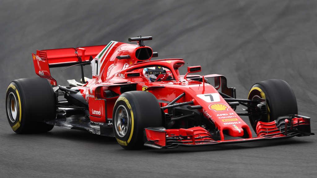 Formel 1 Startet Tests Ferrari Mit Rückspiegel Trick Mehr Sport