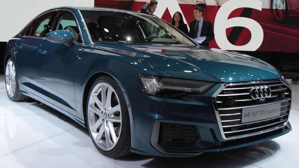 Achte Generation In Genf Das Ist Der Neue Audi A6 2018 C8 Wirtschaft