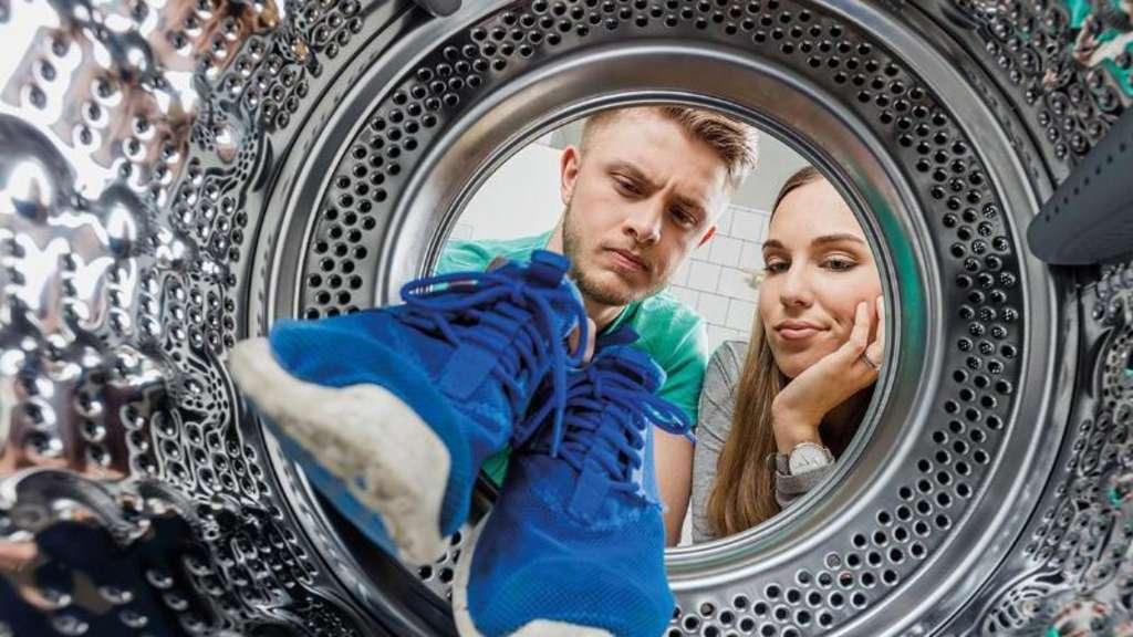 sneaker waschmaschine