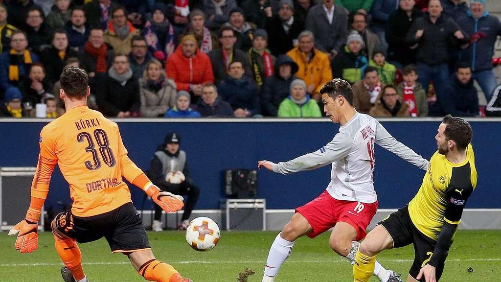 Live Ticker Fc Red Bull Salzburg Empfängt Borussia Dortmund Fußball