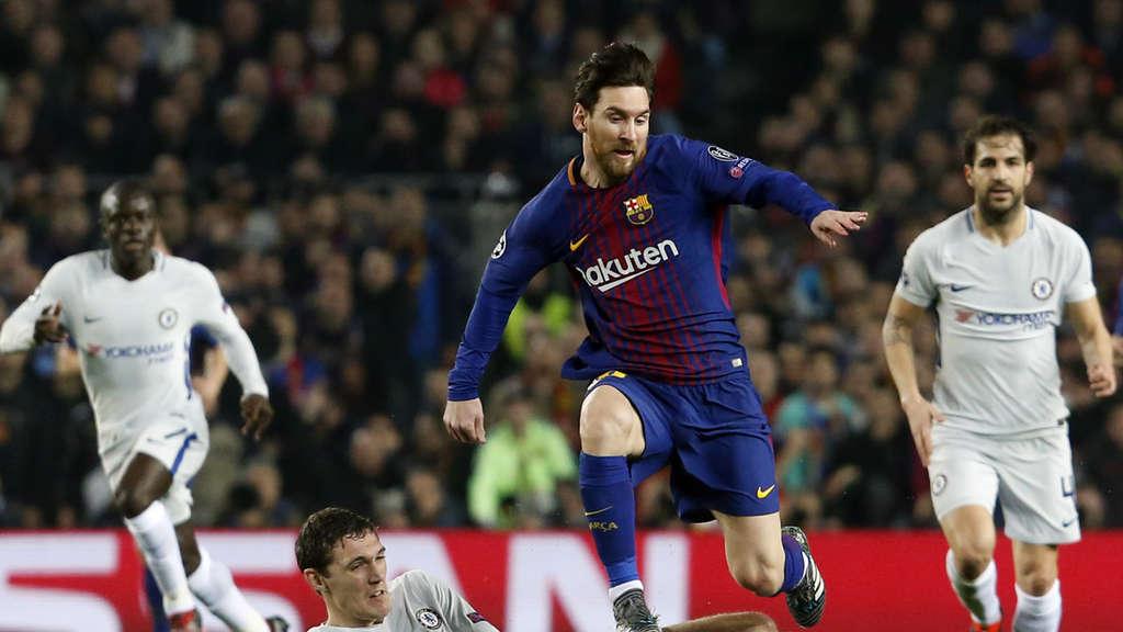 Fc Barcelona As Rom Champions League Heute Live Im Tv Und Live